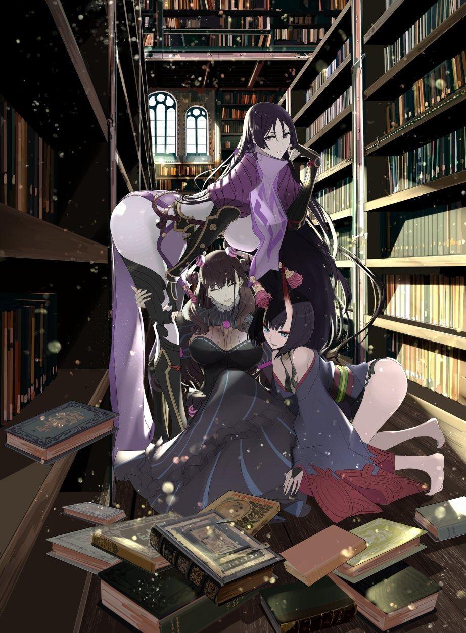 紫式部 図書室 fgo