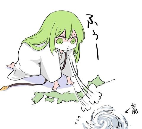 【FGO】台風を吹き返してくれるエルキドゥ!! 神の兵器さんやっちゃってくださいよ!
