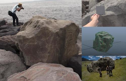 FF15のスタッフ、かっこいい岩を探す旅に出る