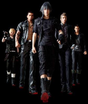 【疑問】FF15の黒服を批判している人は、どんな服装で旅に出てほしかったの?