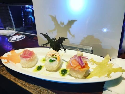 〝あやしい〟かげたちのひとくち手巻き寿司