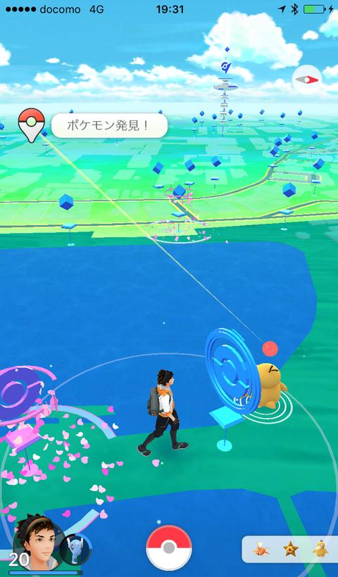ポケモン発見!