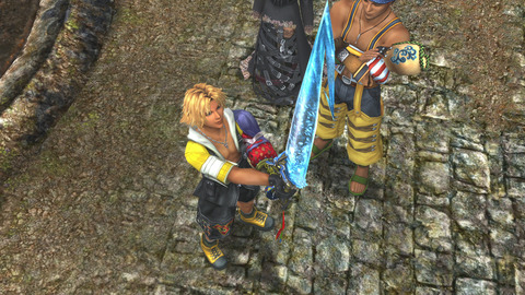 Tidus_receiving_Brotherhood