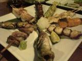 0501104番サード魚真串盛