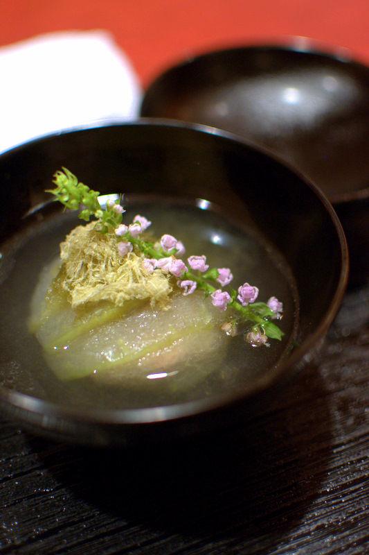 近江牛のテールスープ冬瓜饅頭04