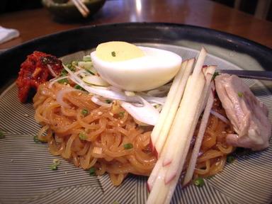 081026正泰苑ビビン麺