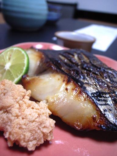 081020岩手川鰆味噌焼き