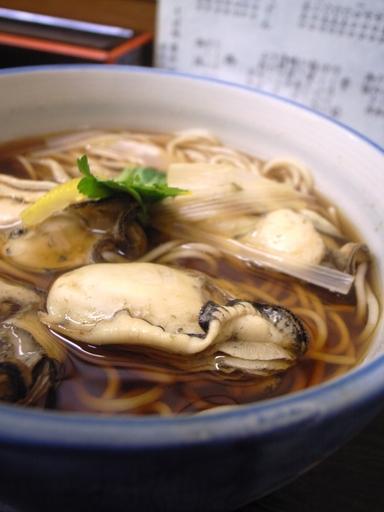 081111富士見屋牡蠣南蛮蕎麦
