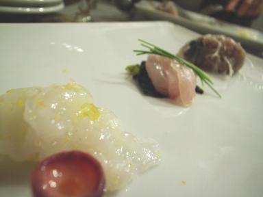 070328ダルマット魚介前菜2