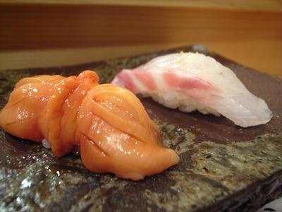 081128鮨いとう赤貝鯛