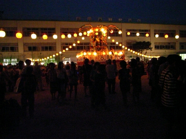 080720盆踊りやぐら