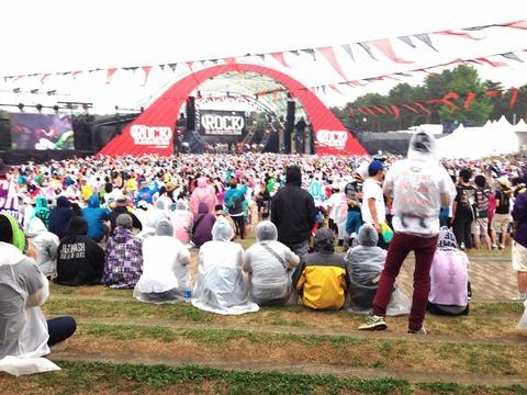 ROCK IN JAPAN FESに行ってきました