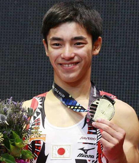 白井健三とかいう体操選手がいかに化け物か一発で分かる画像wwwww