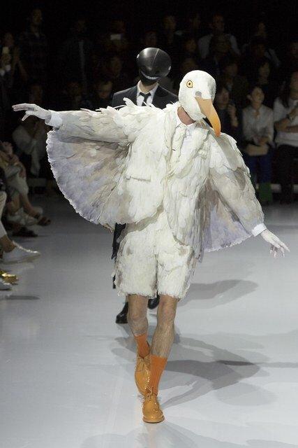 【画像】ファッション業界、人間をやめる wwwwww