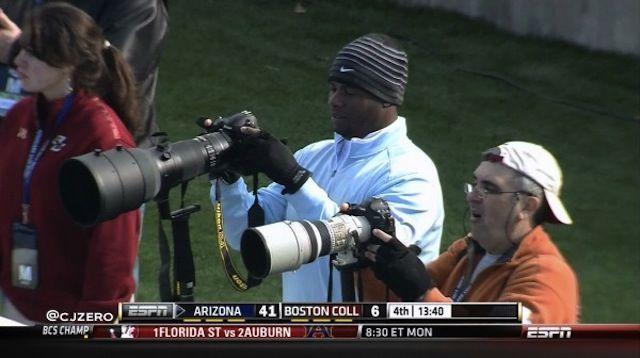 【カメラ】ケン・グリフィー jrはニコンユーザ。しかもかなり本気