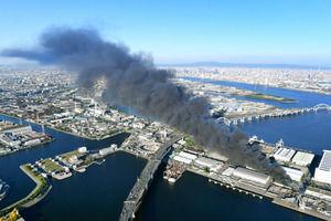 【火事】尼崎市で爆発!?火災現場がヤバすぎる…(画像あり)