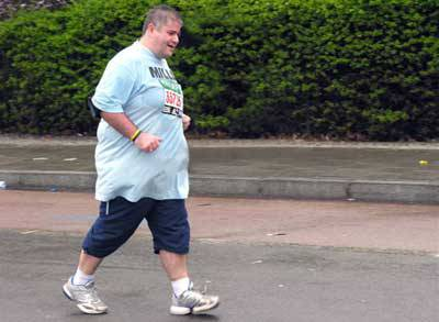 週一で1.5kmも走ってるのに全然痩せない