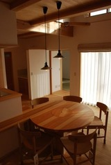 囲炉裏テーブル 1