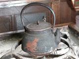 白川郷 鉄瓶1