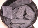 火起し器と備長炭