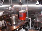 火種コンロ 厨房