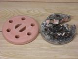 陶器火皿 新旧