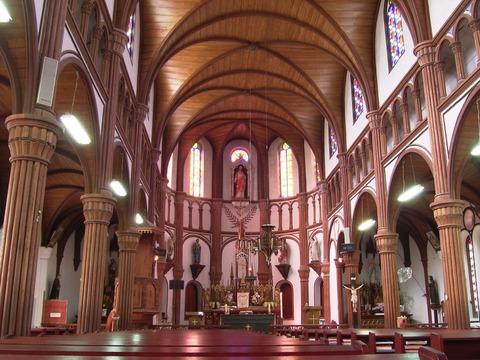 黒島天主堂中