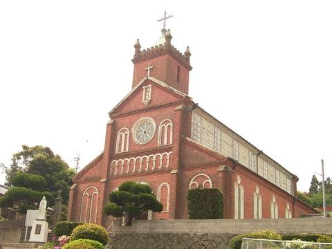 黒島天主堂外観