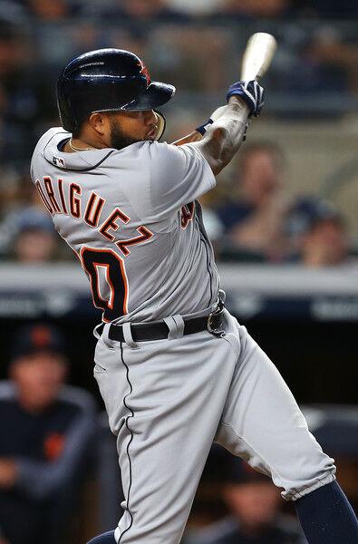 Ronny+Rodriguez+Detroit+Tigers+vs+New+York+NXIoewnbPeUl