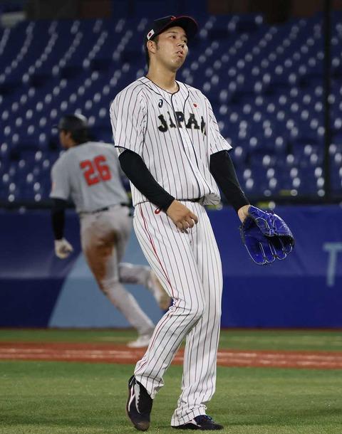 侍ジャパン建山コーチが2試合連続失点の青柳に奮起促す「次に必ず生かしてくれる」