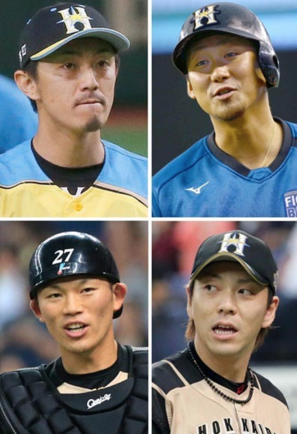 日ハムFA組、中田は阪神   増井・宮西は巨人  大野は中日が獲得へ