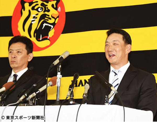 阪神・金本監督 日ハム中田獲得に消極的「自前のチームを」