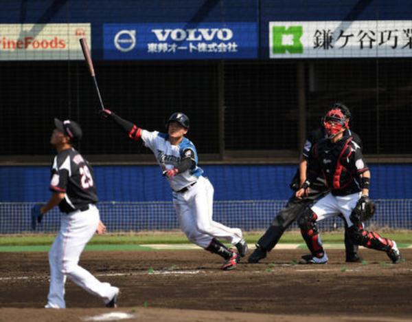 【朗報】日ハム清宮、待望のプロ初本塁打!!2軍ロッテ戦で公式戦1号3ラン
