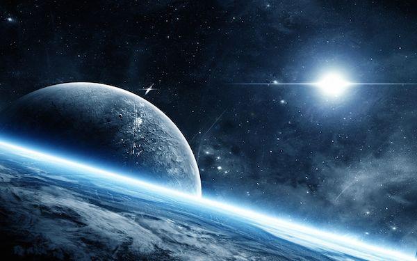 宇宙、地球、太陽、宇宙