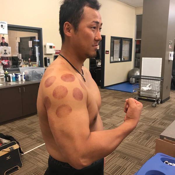 中田翔さんの上腕wwwwwwwwwwwww