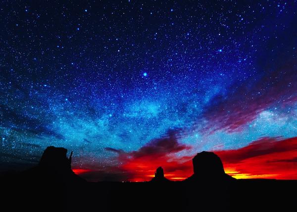 満天の星空-画像
