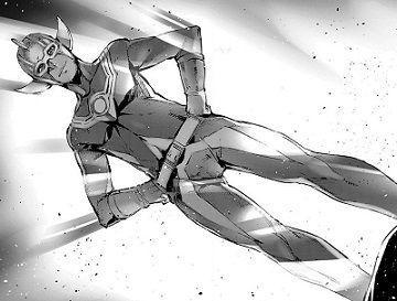 手製のヒーロースーツ