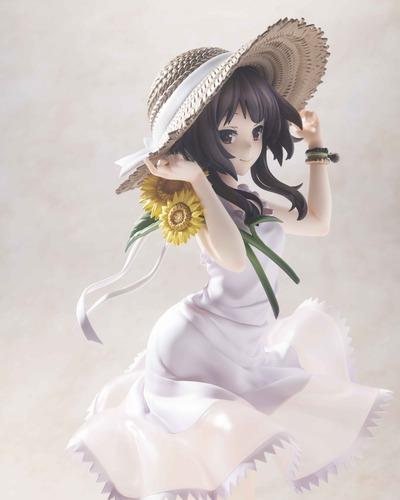 【このすば】KADOKAWA「めぐみん ひまわりワンピースVer.」フィギュア予約開始!ワンピに麦わら帽の清楚なめぐみん