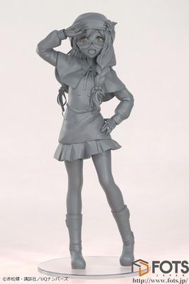 【UQ HOLDER! 】フォトスジャパン「桜雨キリヱ」フィギュア化進行中!CG画像も公開