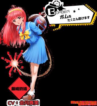 【ボンバーガール】エイコー「藤崎詩織」プライズフィギュアの彩色原型が監修中に