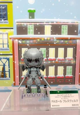 【FAガール】キューポッシュ「フレズ」「バーゼ(素体ver)」がコトブキヤフェスで展示に