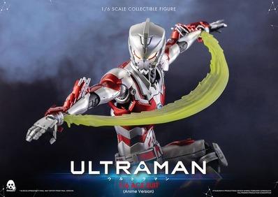 【ULTRAMAN】スリーゼロ「ACE SUIT (Anime Version)」可動フィギュア国内予約開始!カラータイマーおよび目にLED発光機能を搭載