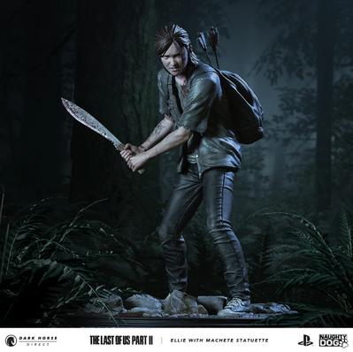【The Last of Us Part II】 Dark Horse「エリー with マチェーテ」スタチュー登場