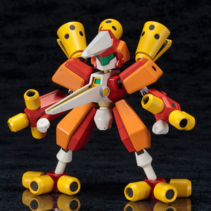 【メダロット】コトブキヤ「アークビートル」プラモデルが予約開始!スプリングによる弾丸の3発同時射出ギミック搭載