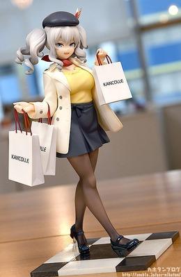 【艦これ】グッスマ「鹿島 お買い物mode」フィギュア明日予約開始!三越コラボの鹿島が立体化