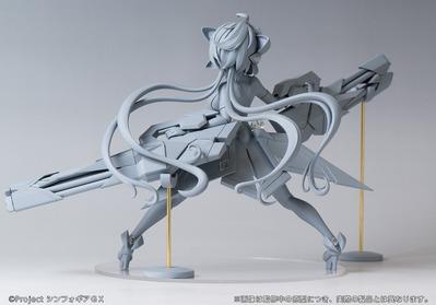 【戦姫絶唱シンフォギア】ホビーストック「雪音クリス」フィギュア原型チラ見せ!