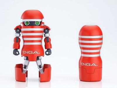 TENGAが変形ロボに!グッスマ「TENGAロボ」可動フィギュアが予約開始