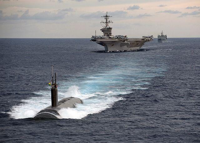 【国際】トランプ米大統領「無敵艦隊を派遣した。空母よりずっと強力な潜水艦も持っている」 北朝鮮をけん制