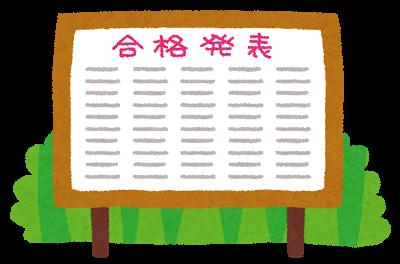 10時から20卒NNTワイの公務員試験の合格発表
