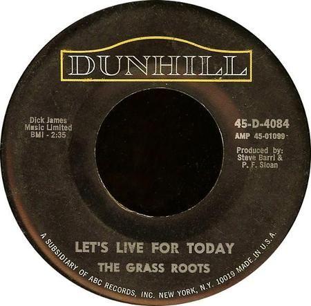 グラス・ルーツ(The Grass Roots) - 「今日を生きよう(Let's Live ...